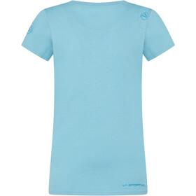 La Sportiva Stripe Evo T-Shirt Femme, pacific blue